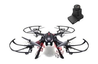 MJX Bugs 3 + панорамная камера C4022