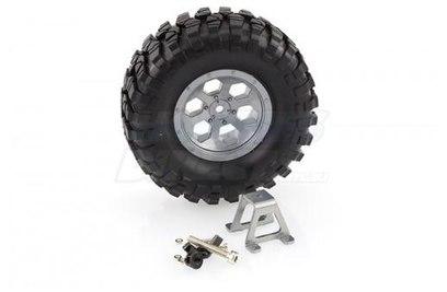Запасная шина для HSP RC4 с креплением - HSP680037