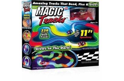 Конструктор-трасса Magic Tracks светящийся 220 деталей - mt220