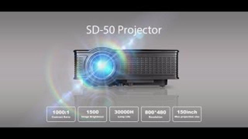 Обзор проектора SD-50 Plus