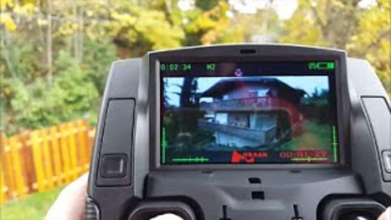 Запуск и полёт (видео с экрана, с камеры)