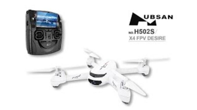 Видеообзор и распаковка Hubsan H502S от Hobby Shopping