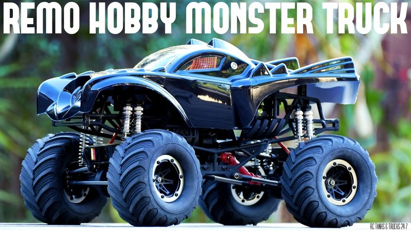 REMO HOBBY Monster Jam BATMAN Brushless 1/10 RC - Unboxing & First Look