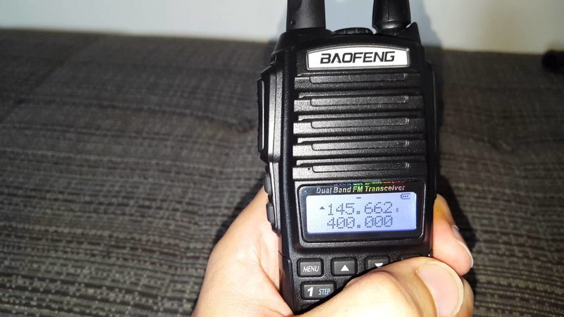 Baofeng (fastest way to programme a repeater!)