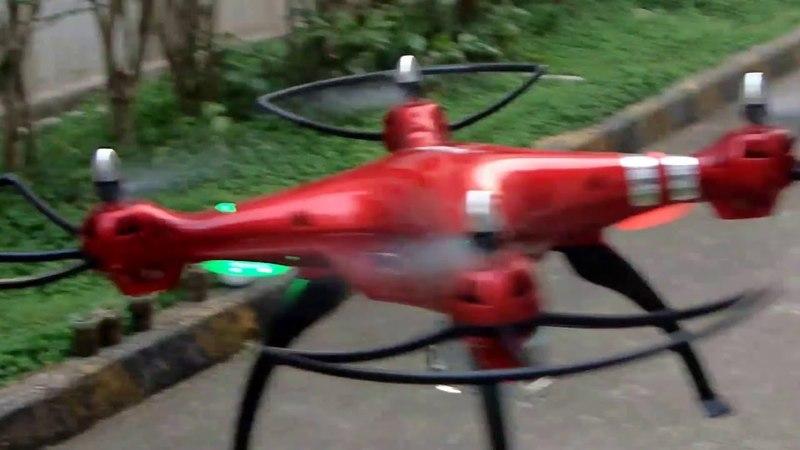 Обзор квадрокоптера Syma X8HG