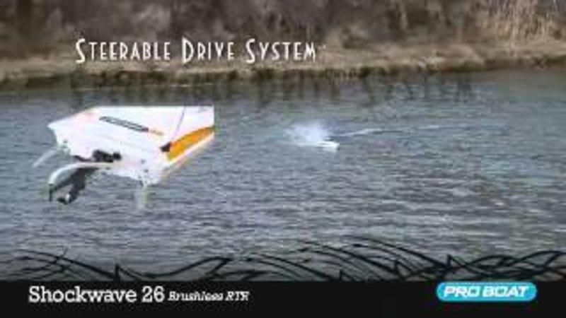 Катер ProBoat Shockwave 26 Brushless Deep-V. Обзор