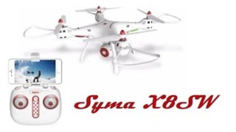 Распаковка и видеообзор Syma X8SW