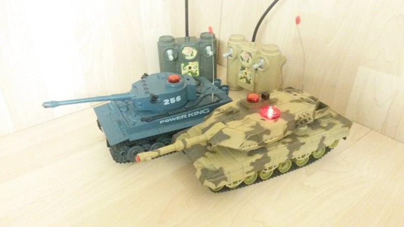 Обзор танкового боя Huan Qi Tiger vs Leopard 2A5 1:32