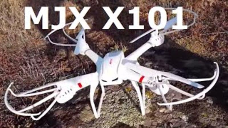 MJX X101 - видео обзор