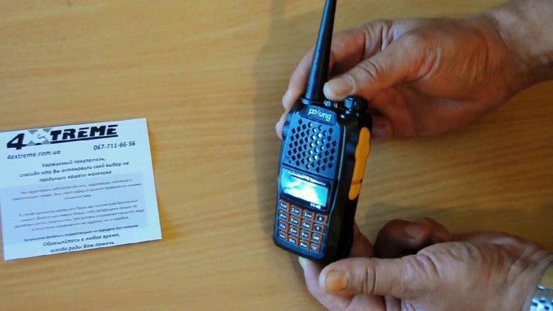 Pofung UV-6R , Baofeng UV-R. Обзор радиостанции.