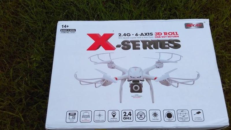 Видео обзор MJX X101