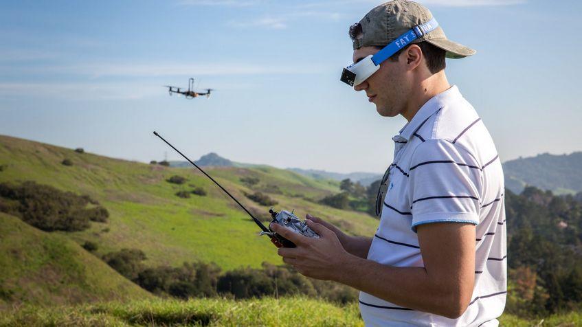 Пилот коптера квадрокоптер mavic air vision купить
